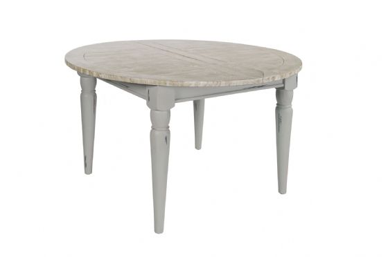 Lostwithiel Grey Extending Round Table - Special Order